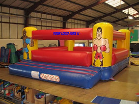 Inflatable Themed Bouncy Boxing with large Gloves
