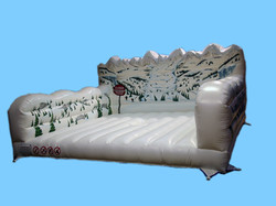 Snowboard-Bed-Alpine theme