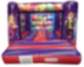 H Frame Bouncy Castle with Changeable Printed Artwork