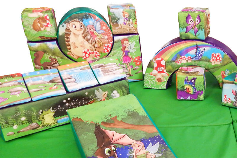 Woodland and fairies theme enchanted soft play