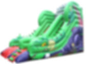 10ft Platform Slide in Dragon theme