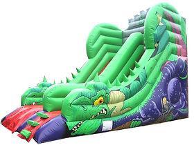 10ft Platform Slide in Dragon theme