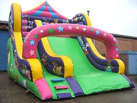 10ft Platform Slide in Circus theme