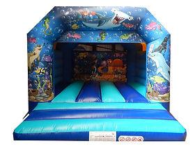 Undersea A-Frame Bouncy Castle