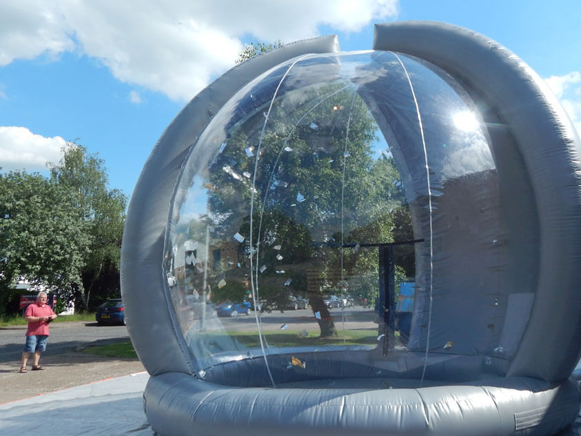 Cash Grabber inflatable game