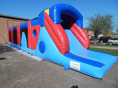 4 Part Rapid Run Bouncy Castle