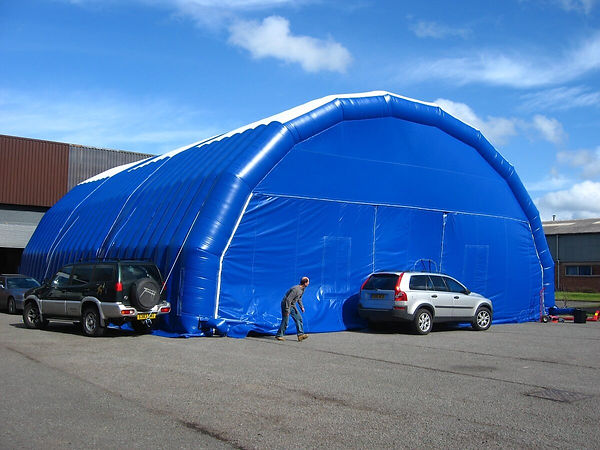 Inflatable Worktent in 3 Parts for MOD