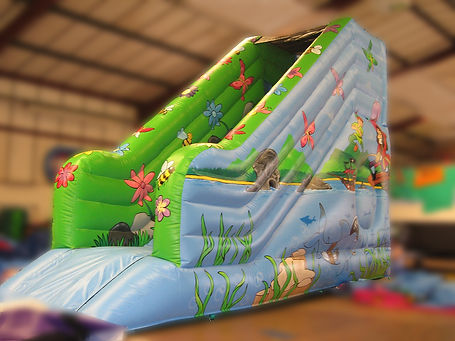 Bespoke Slide for Indoor Play