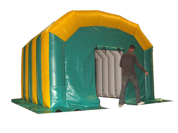 Inflatable Workshop with bespoke features