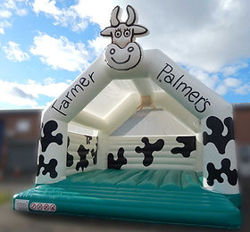 Cow theme Arch A Frame Bouncy Castle