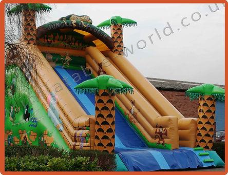 16ft Platform Slide Jungle Explorer