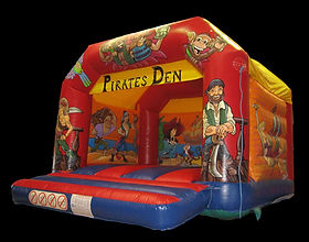 Pirate A-Frame Bouncy Castle