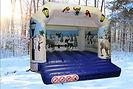Friendly Snowman Bouncy Castle