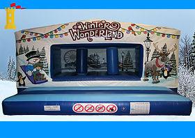 Large Winter Wonderland theme Box Unit Bouncy Castle