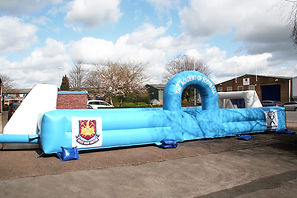 Branded Inflatable Football Enclosure