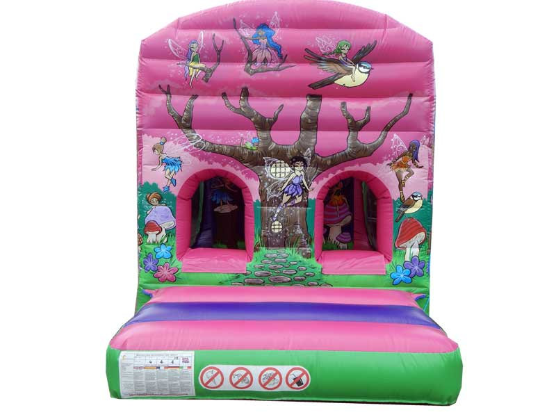 One Part Fun Run Fairy Bouncy Castle