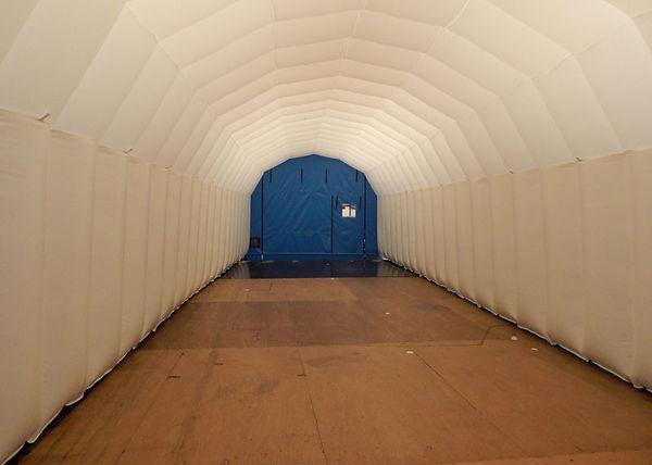 Bespoke Inflatable Buildings for Wind Turbine Repair