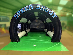Latest design Inflatable Multisports Football shootout game
