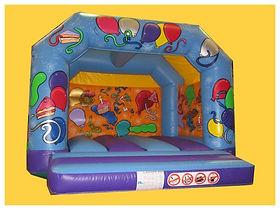 Celebration A-Frame Bouncy Castle
