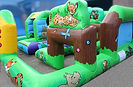 Bespoke Large Toddler Activity Bouncy Castle