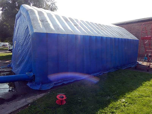 Used Inflatable Building in stock for sale by Inflatable World