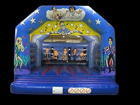 Rockstar A-Frame Bouncy Castle