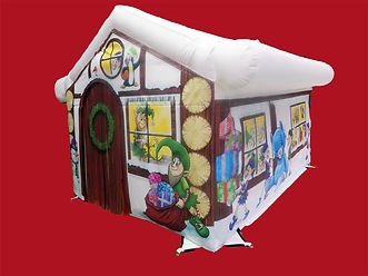 Santa's Grotto with Panels