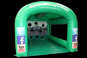 Custom Designed Inflatable Football Shootout