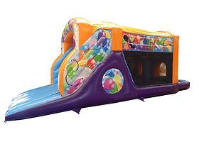 One Part Celebration Fun Run Bouncy Castle