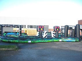 Inflatable Railway themed segway track