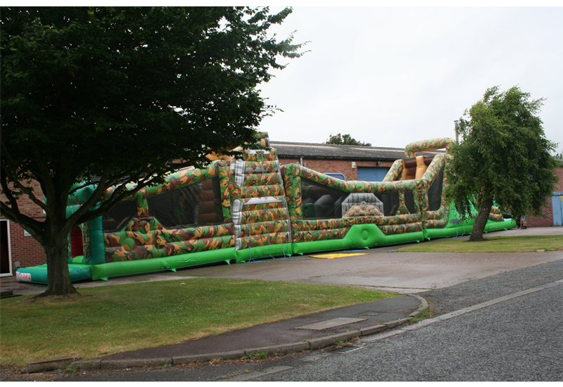 Ultimate Bootcamp Bouncy Castle
