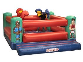 Inflatable Bouncy Boxing with large Gloves
