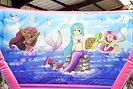 Mermaid theme backwall