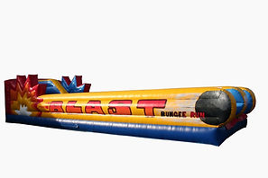 Cannonball Blast Inflatable Bungee Run