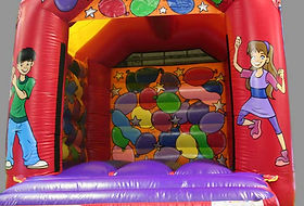 Balloons Small A Frame Bouncy Castle with changeable panels