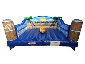 Inflatable Surfboard simulator bed
