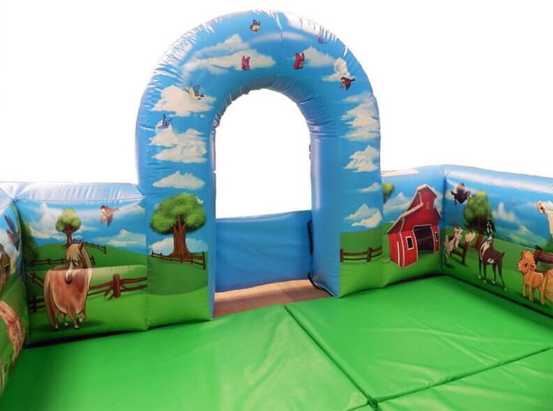 Soft Play Surround with Arch and Lavish Farm artwork