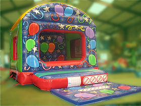 Arched Box Ballpond Bouncy Castle