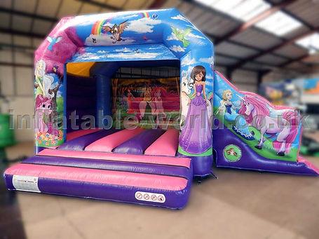 Unicorn Bounce and Side Slide Combi