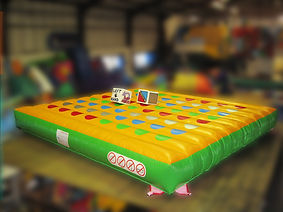 Inflatable Square Bed Gladiator Game in Corporate Colours