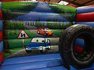 Car and Transport themed back wall