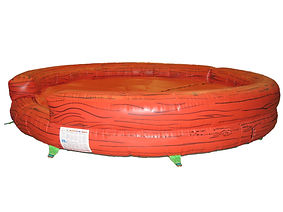 Inflatable Rodeo Bull bed Plain Log theme