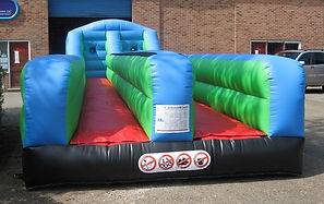 Plain Inflatable Bungee Run