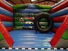 Tyre Themed Biff and Bash on the Bounce Bed