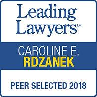 leading lawyer badge 2018
