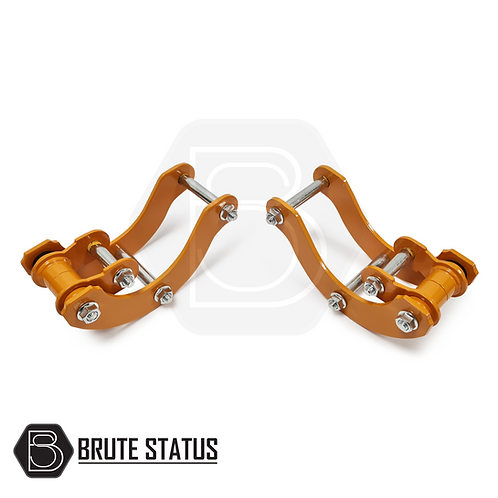 """Toyota Hilux 2005-15 2"""" Inch Rear Suspension Body Lift Shackles"""