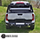 Ford Ranger Rear Bumper Matte Black