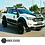 Thumbnail: Ford Ranger 2012-2022 Wide Arch Kit Overland Extreme With 35mm Spacers CLEARANCE