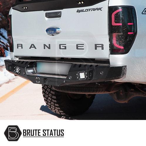Ford Ranger Rear Bumper Matt Black