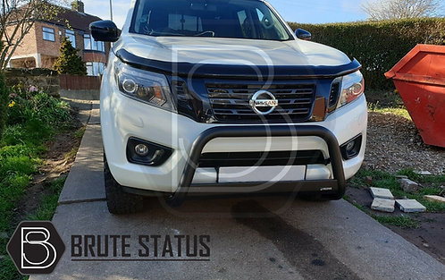 Nissan Navara NP300 2015+ Bonnet Guard and Window Wind Deflector Bundle